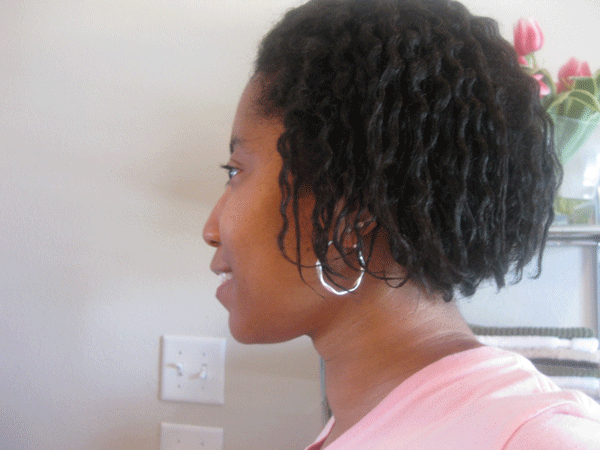 Twist Out on Transitioning Hair