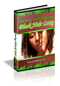 How to Grow Black Hair Long