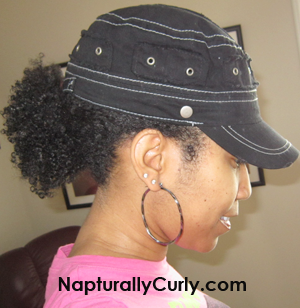 Curly Ponytail Kinky Curly
