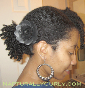 Side Twist Out Pony