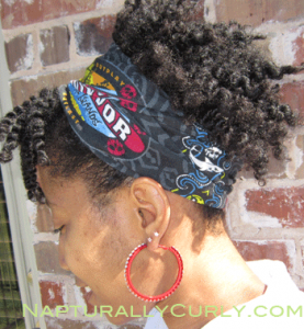 Chunky Twist Out Pony