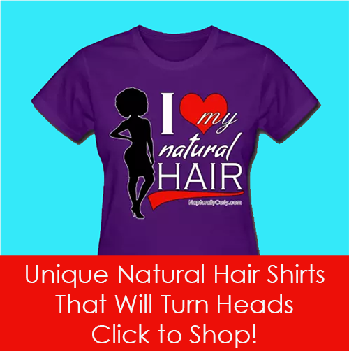 Unique Natural Hair Shirts