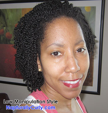 Low Manipulation Style Natural Hair