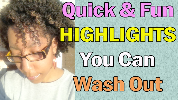 Two-Minute Highlights on Natural Hair