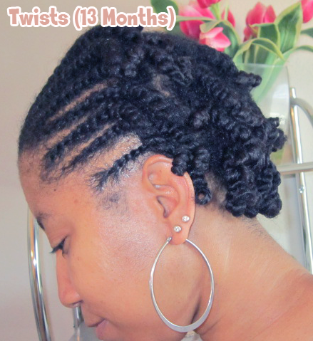 Two Strand Twists w/ Flat Twists