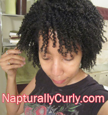 Twist Out Natural Hair