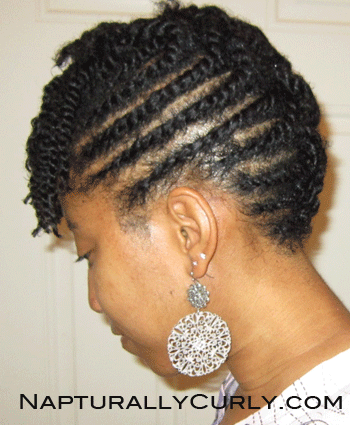 Natural & Transitioning Hairstyle Gallery for Ideas and Styling ...