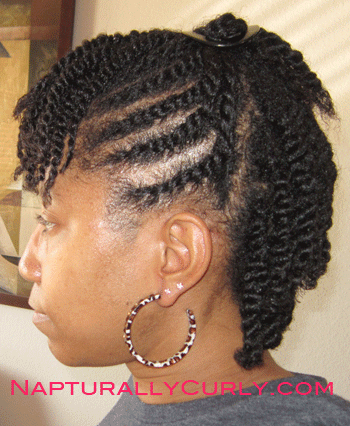 Flat Twists and Two Strand Twists