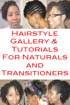 Hairstyle for Transitioners and Natural Hair