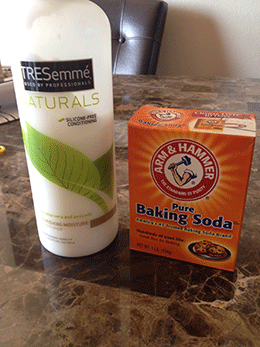 Clarify Natural Hair Baking Soda