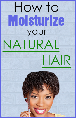 Awesome Tips for Moisturizing Natural Hair!