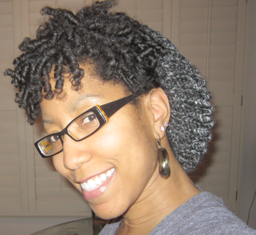 Beanie Style on Natural Hair