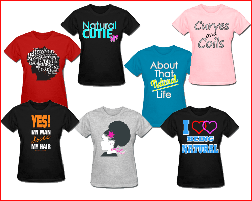 Amazing Natural Hair T-Shirts