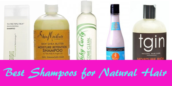 The Best Shampoos for Natural Hair