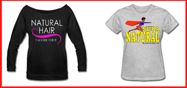 Cute Natural Hair Shirts